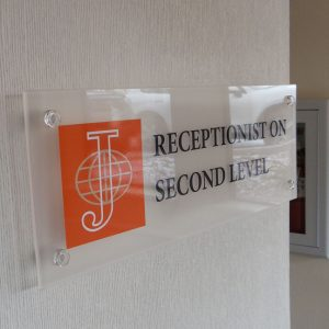 Acrylic Lobby Signs Denver
