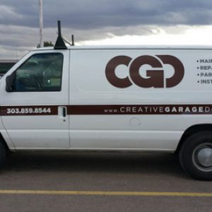 Contractor Vehicle Lettering Englewood CO