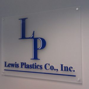 Acrylic Lobby Signs for Englewood CO
