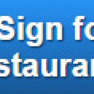 restaurant signage free quote