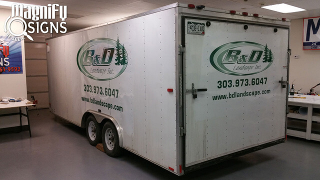 shop for enclosed trailer lettering