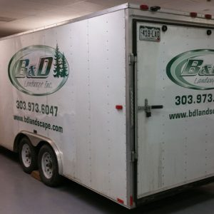 Large vehicle wraps