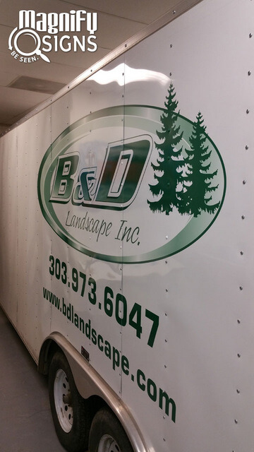 Vehicle lettering and graphics Englewood CO