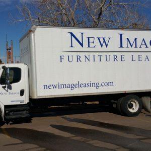 Vinyl Truck Lettering Denver