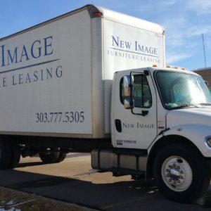 Die Cut Vinyl Lettering for Trucks Denver