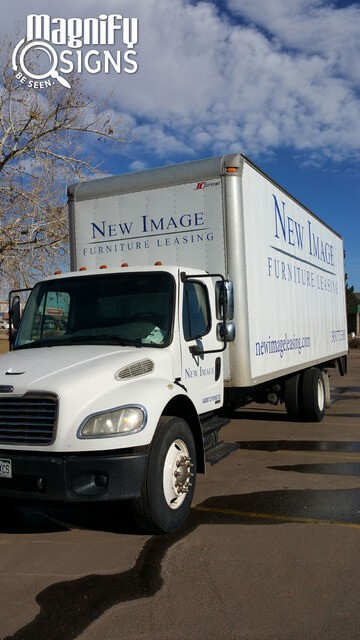 National Seating & Mobility Adds Fleet Lettering and Graphics!