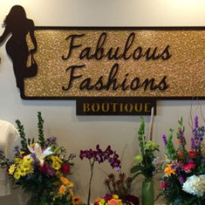 boutique interior signage