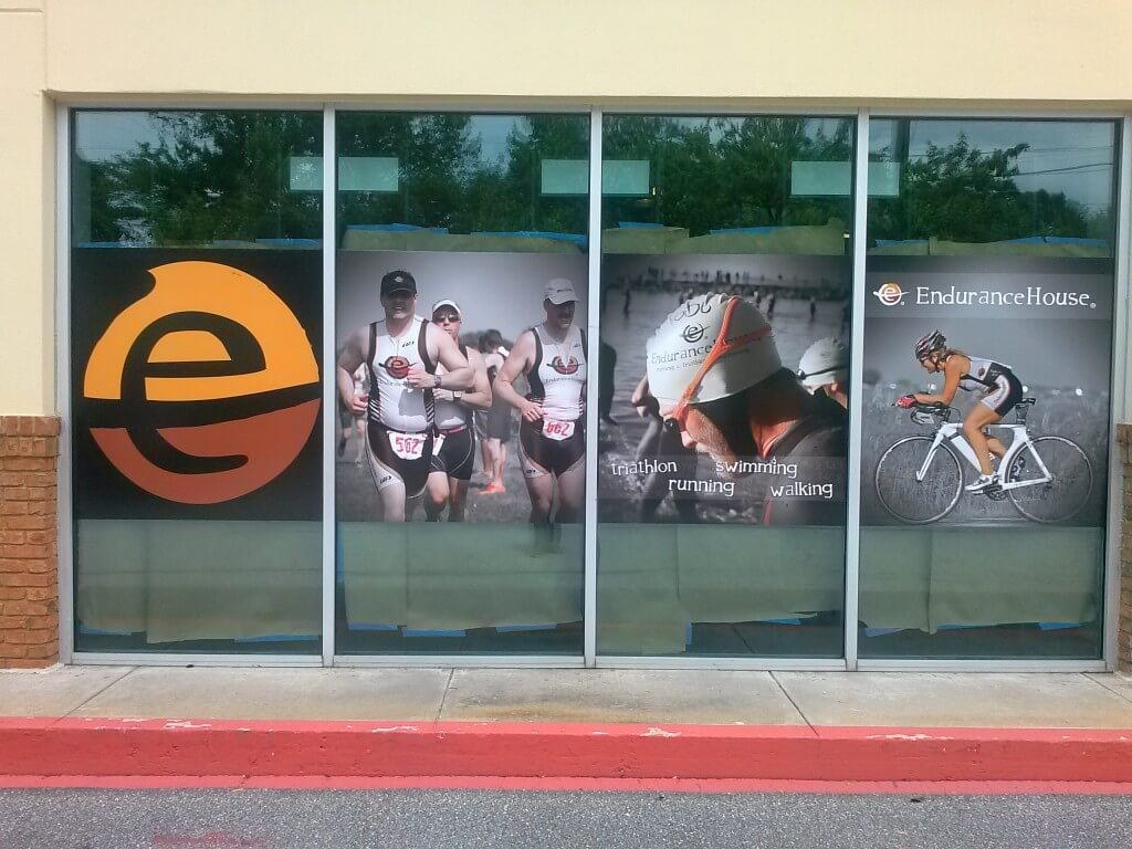 Window Graphics with Product Images Denver