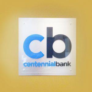 Acrylic_CentennialBank_1