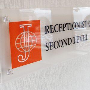 Acrylic Panel Lobby Signs Littleton CO