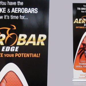 Retractable Banner Stand for AeroBar in Englewood, CO