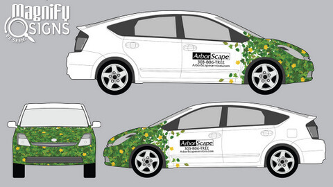 Partial Vehicle Wrap Design Proofs