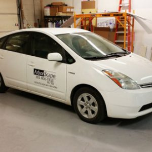 fleet car partial wraps