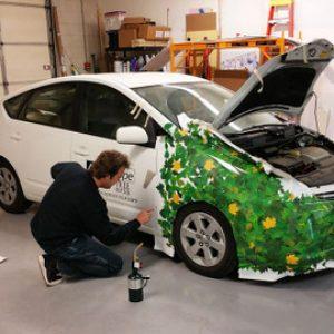 Installing Partial vehicle wraps