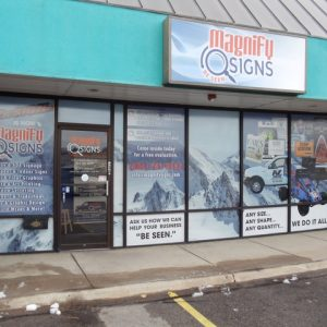 Lightbox Cabinet Signs Denver Metro Area