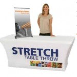 table throw materials