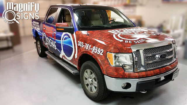 Ford F150 Truck Wraps Denver