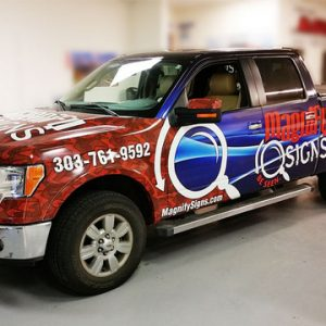 custom vehicle graphics in Denver