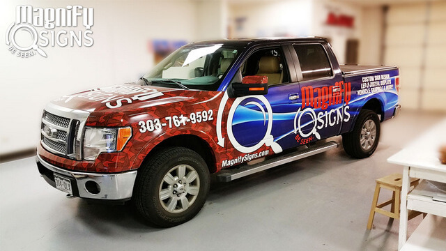 Ford F150  Truck Wraps Englewood CO