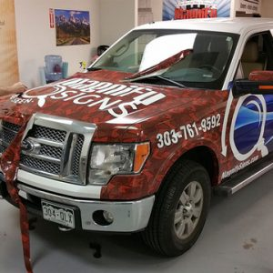 Magnify Signs Truck Wrap