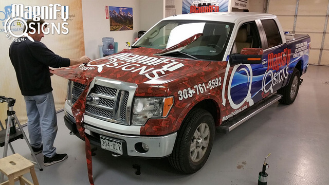 Best vehicle wraps for Denver