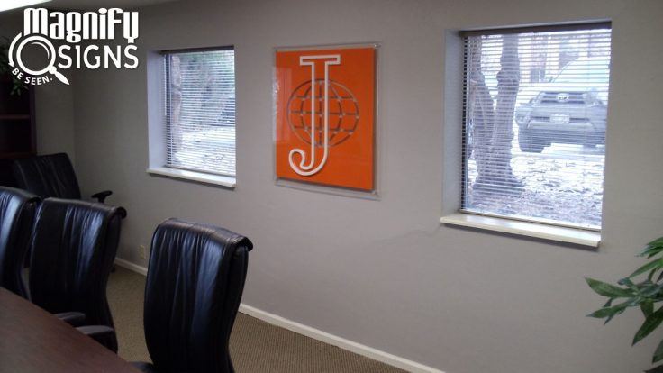 Acrylic Lobby Signs Denver Metro Area