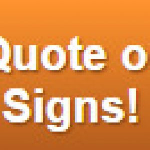 Free Quote on Cabinet Signs Denver Metro Area
