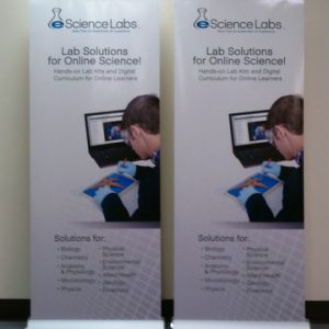 Types of retractable banner stands