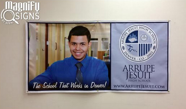 Vinyl Banners for Schools in Denver