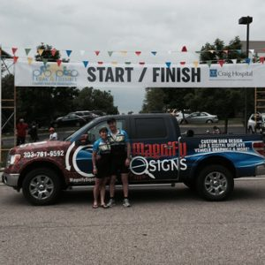 Start/Finish Banners Denver, Englewood, Colorado Springs