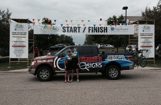Start/Finish Banners Denver, Englewood, Colorado Springs