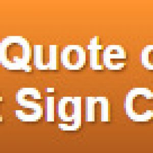 Free quote on channel letters and cabinet sign combos Denver