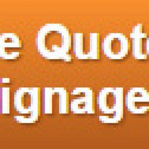 corporate signage price