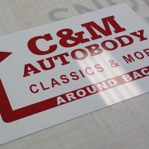 Aluminum C&M Autobody