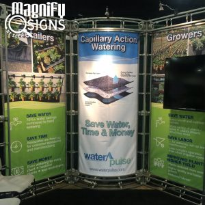 Water Pulse Trade Show Display