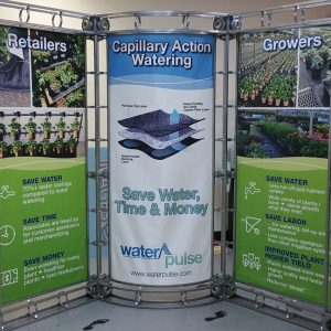 WaterPulse Trade Show Display Booth