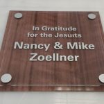 Acrylic Sign Arrupe Jesuit High