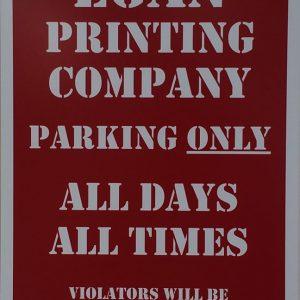 Aluminum Egan Printing