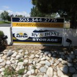Aspen RV & Boat Storage Monument Sign
