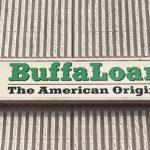 Light Cabinet Sign BuffaloLoam