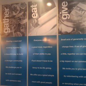Custom Digital Print Graphics for GraceFull Cafe in Littleton, CO