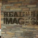 Lobby Sign for Health Images Denver West in Lakewood, CO