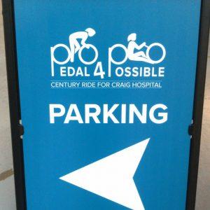 A Frames for Craig Hospital's Pedal for Possible in Denver, CO