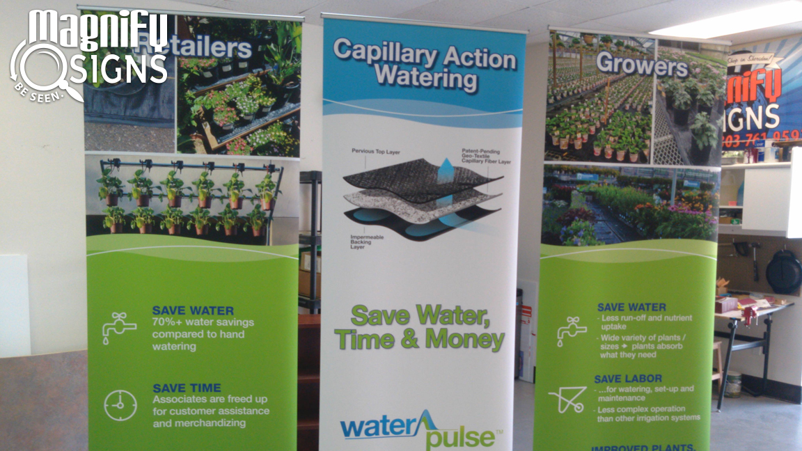 Banner Stand WaterPulse in Englewood, CO