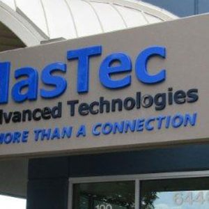 Formed Plastic Letters Exterior Sign for MasTec in Centennial, CO