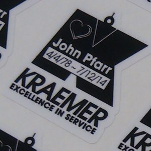 Decals for Kramer in Castle Rock, CO