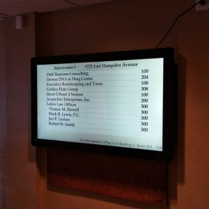 Digital Signage for Americenter in Englewood, CO