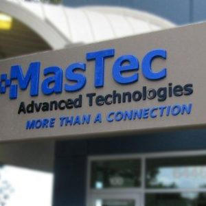 Formed Plastic Channel Letters for MasTec in Centennial, CO