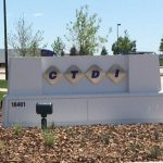 Monument Sign for CTDI in Aurora, CO