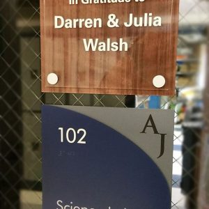 Plaque Signs for Regis Jesuit HS in Denver, CO